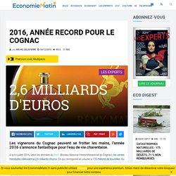 2016, année record pour le cognac