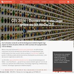 CES 2016 : Donnez vie à vos Lego grâce au kit WeDo 2.0 - Tech