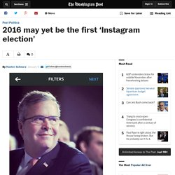 2016 may yet be the first 'Instagram election'