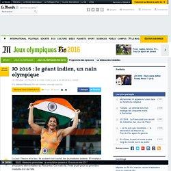 JO 2016: le géant indien, un nain olympique