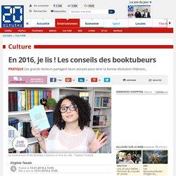 20min: En 2016, je lis ! Les conseils des booktubeurs