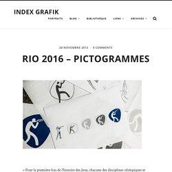 Rio 2016 – Pictogrammes