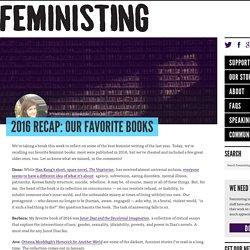 2016 Recap: Our Favorite Books