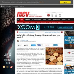 MCV's 2016 Salary Survey: How much are you worth?