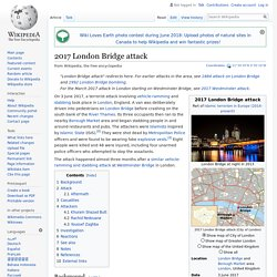 2017 London Bridge attack