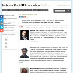 2017 National Book Awards