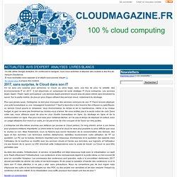 2017, sans surprise, le Cloud dans son IT