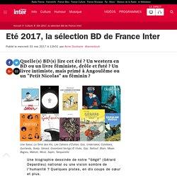 Eté 2017, la sélection BD de France Inter