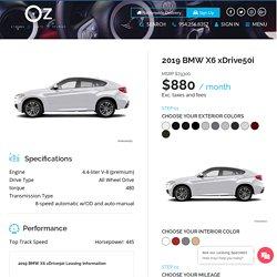 2019 BMW X6 xDrive50i -