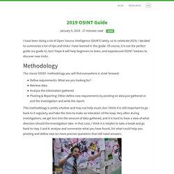 2019 OSINT Guide