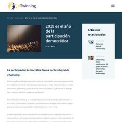 2019 es el año de la participación democrática