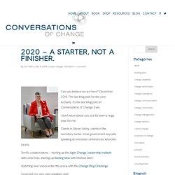 Conversations of Change (Dr Jen Frahm)