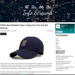 2020's Best Baseball Caps By Fast Caps