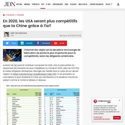 En 2020, les USA seront plus compétitifs que la Chine grâce à l'IoT