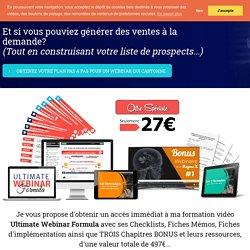 2020 Ultimate Webinar Formula