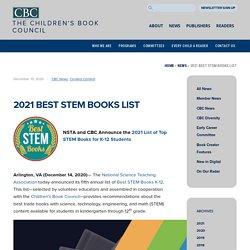 2021 Best STEM Books List – Children's Book Council