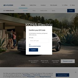 2021 Hyundai Kona Electric Vehicle