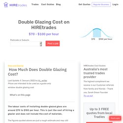 2021How Much Does Double Glazing Cost?