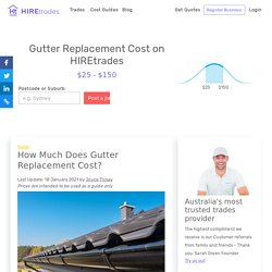 2021 How Much Does it Cost for Gutter Replacement?