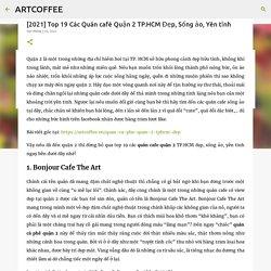 [2021] Top 19 Các Quán café Quận 2 TP.HCM Đẹp, Sống ảo, Yên tĩnh