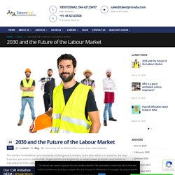 2030 and the Future of the Labour Market