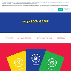 2030 SDGs GAME