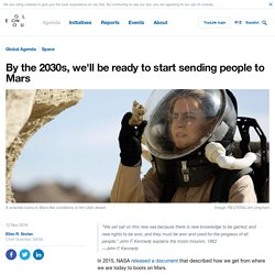 First Humans Heading to Mars
