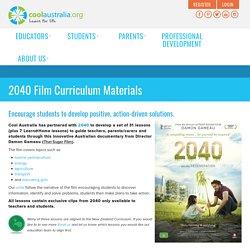 2040 Film Curriculum Materials