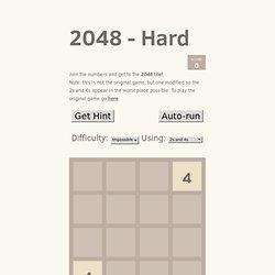 2048 - Hard