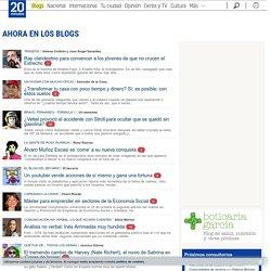 Opinión en 20minutos.es - El medio social - Columnistas, blogs, cartas de los lectores y viñetas
