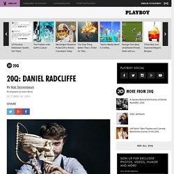 20Q: Daniel Radcliffe