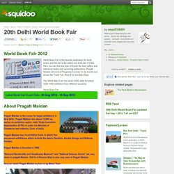 Word Book Fair, Pragati Maidan