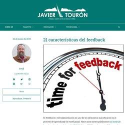 21 características del feedback