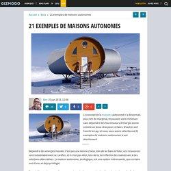 21 exemples de maisons autonomes