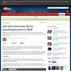 210 000 nouveaux livres numériques pour la BnF-Mozilla Firefox