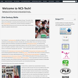 21st Century Skills | Welcome to NCS-Tech!