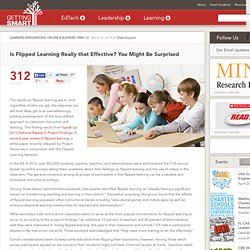 Is Flipped Learning Really that Effective? You Might Be Surprised - Getting Smart by Dave Guymon - 21stedchat, edchat, flipchat, flipclass, flippedlearning