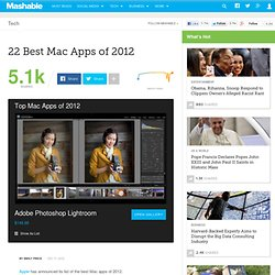 22 Best Mac Apps of 2012