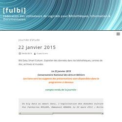 22 janvier 2015