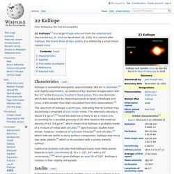 22 Kalliope - Wikipedia