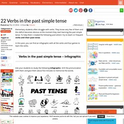 22 Verbs in the past simple tense
