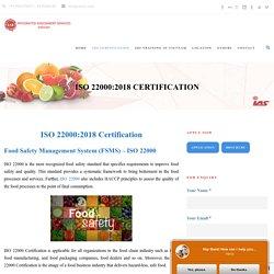 ISO 22000:2018 Certification in Vietnam