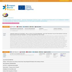 Comenius Multilateral School Partnership 2012-2014