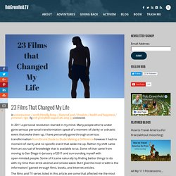23 Films That Changed My Life