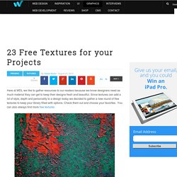 23 Free Textures for your Projects