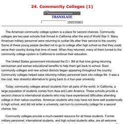 24. Community Colleges (1)