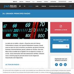 24h dans une rédaction - Radio
