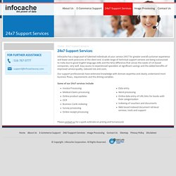 Get Reliable 24x7 Technical Support Services