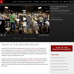 International House of Prayer | 24/7 Prayer Room