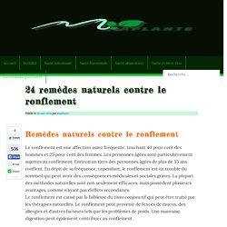24 remèdes naturels contre le ronflement